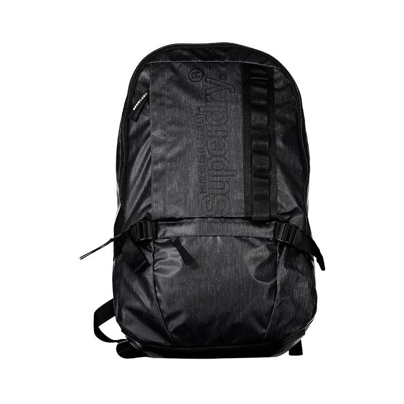 Superdry Slimline Tarp Backpack Black-0