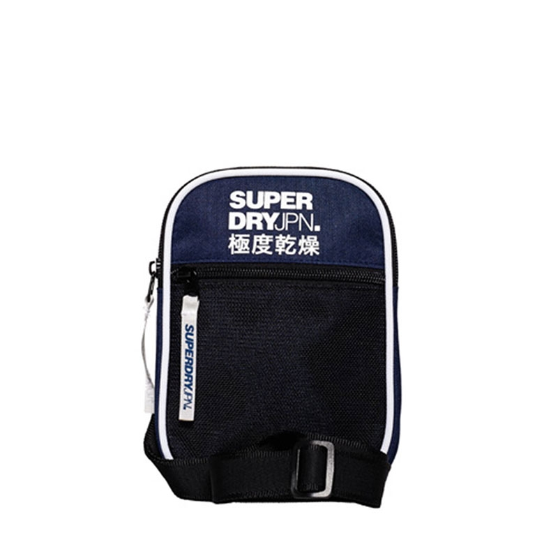 Superdry Sports Pouch Bag Navy-0