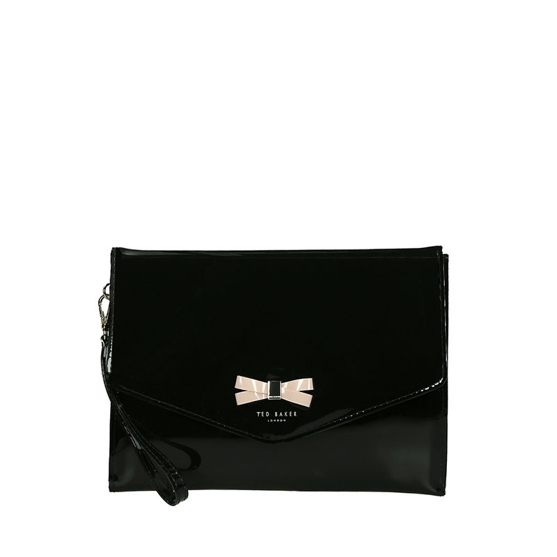 Ted Baker Canei Clutch Black-0