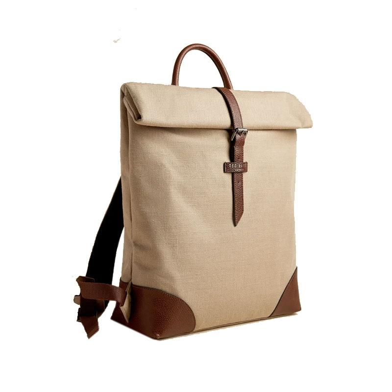 Ted Baker Featt Canvas Backpack Naturel-0