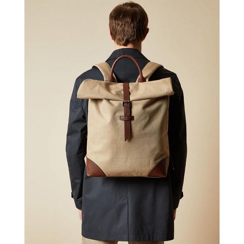 Ted Baker Featt Canvas Backpack Naturel-180963