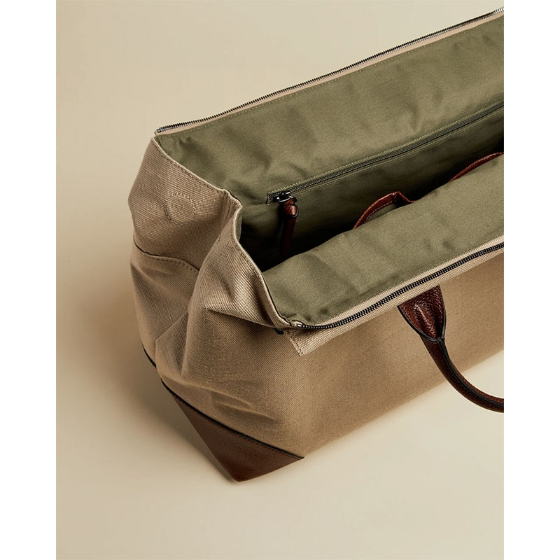 Ted Baker Giante Canvas Holdall Naturel-180960