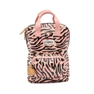 Zebra Trends Backpack S Zebra Stripes Pink-0