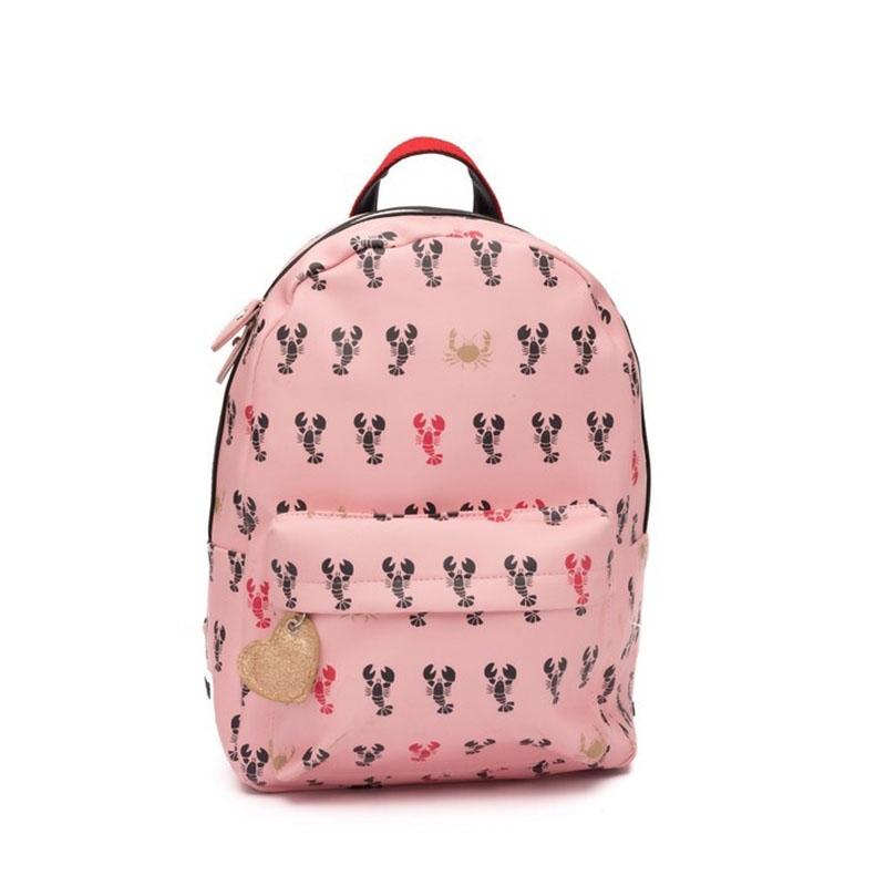 Zebra Trends Girls Backpack M Lobster-0