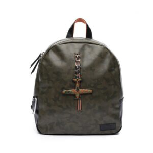 Zebra Trends Backpack Boys Army Green-0