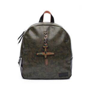 Zebra Trends Backpack Boys Army Green