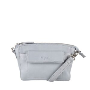MyK. Carlton Bag Silver Grey