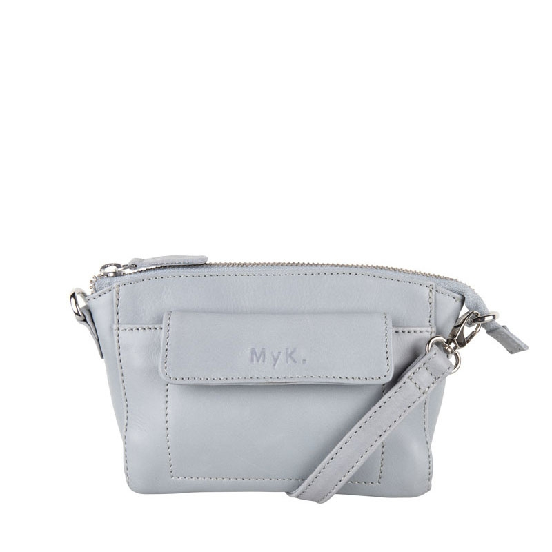 MyK. Carlton Bag Silver Grey-0
