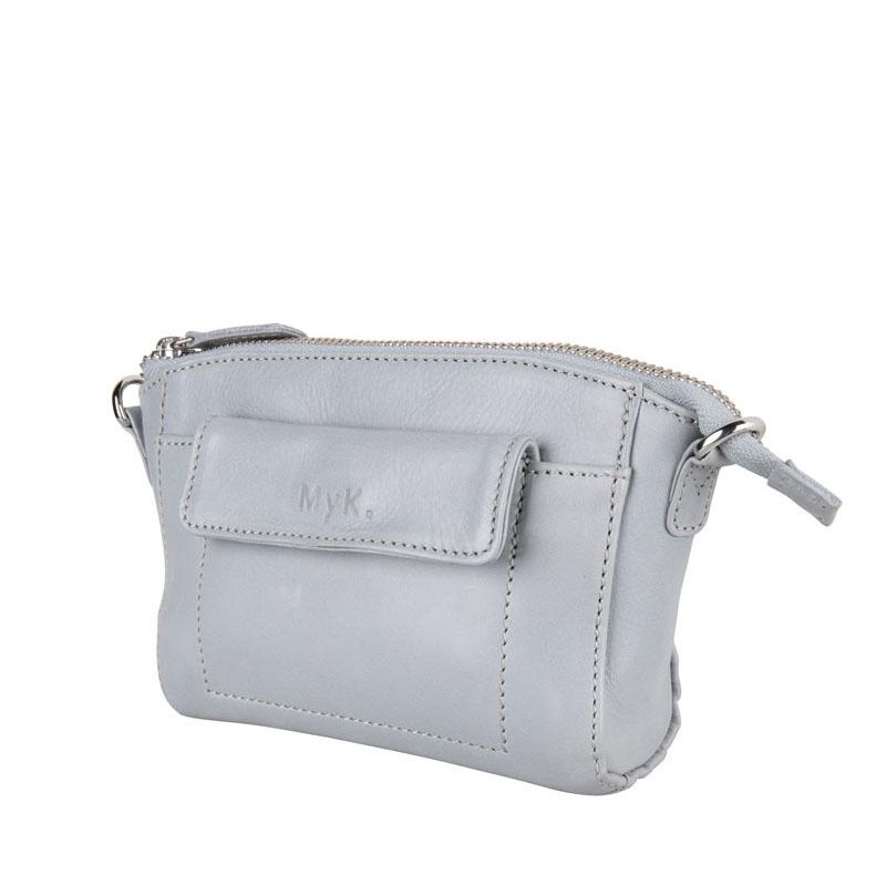 MyK. Carlton Bag Silver Grey