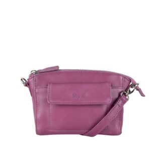 MyK. Carlton Bag Plum