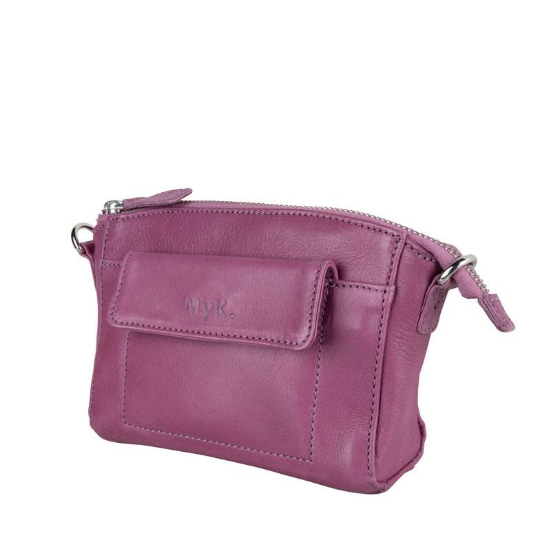 MyK. Carlton Bag Plum-181116