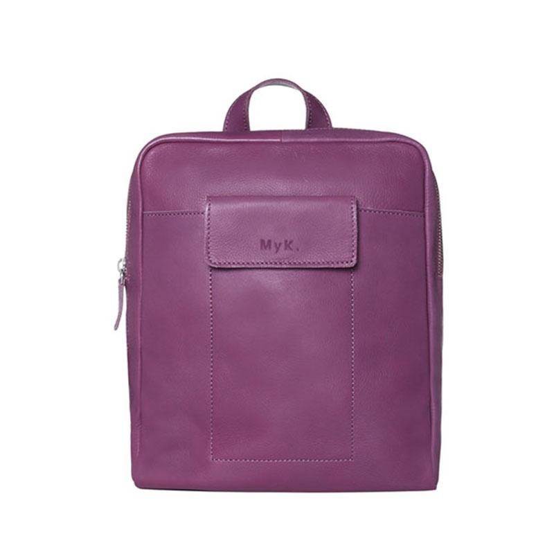 MyK. Delano Backpack Plum-0
