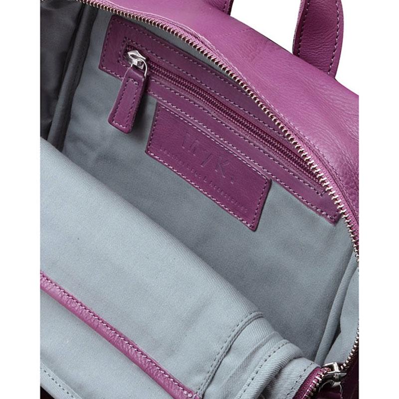 MyK. Delano Backpack Plum-181141