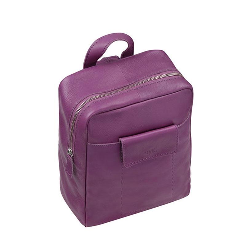 MyK. Delano Backpack Plum-181142