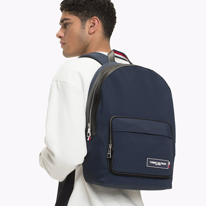 Tommy Hilfiger TH Patch Dome Backpack Navy-181441