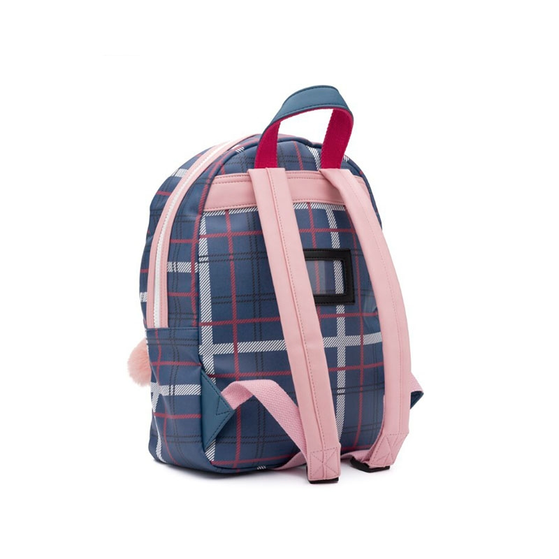 Zebra Trends Backpack M Bunny Check Blue-181382