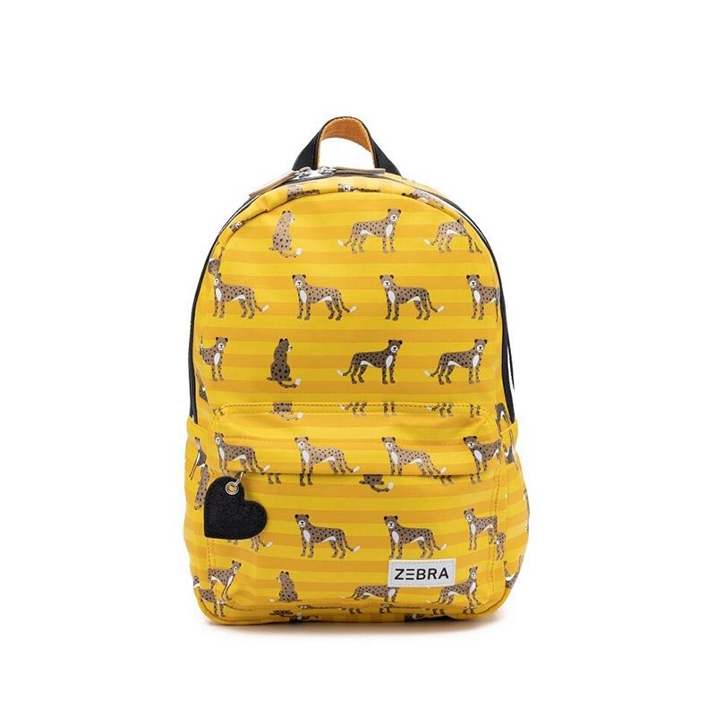 Zebra Trends Backpack M Leopard Stripes-0
