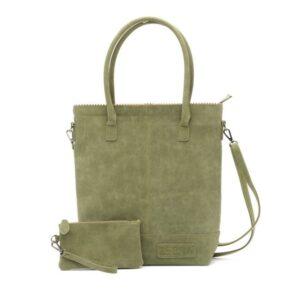 Zebra Trends Natural Bag Kartel Shoulder Army-0