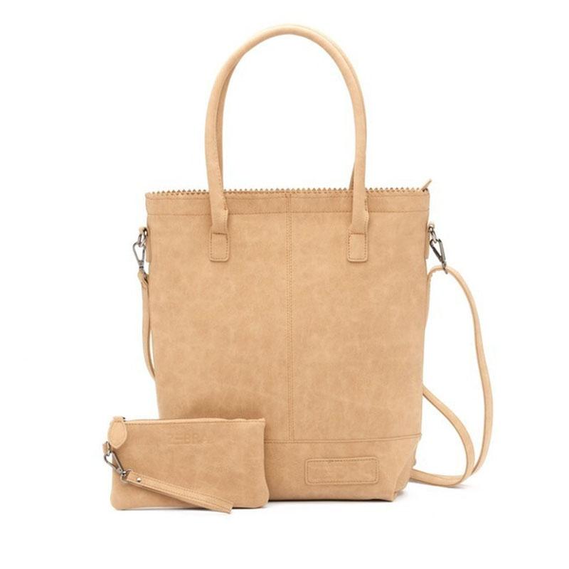 Zebra Trends Natural Bag Kartel Shoulder Light Brown-0