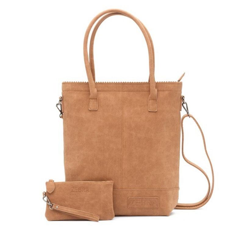 Zebra Trends Natural Bag Kartel Shoulder Light Camel-0