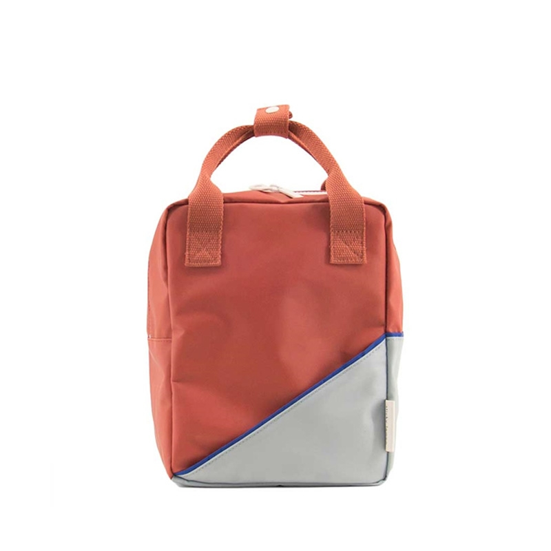 Sticky Lemon Backpack Diagonal Small Faded Red / Powder Blue-0