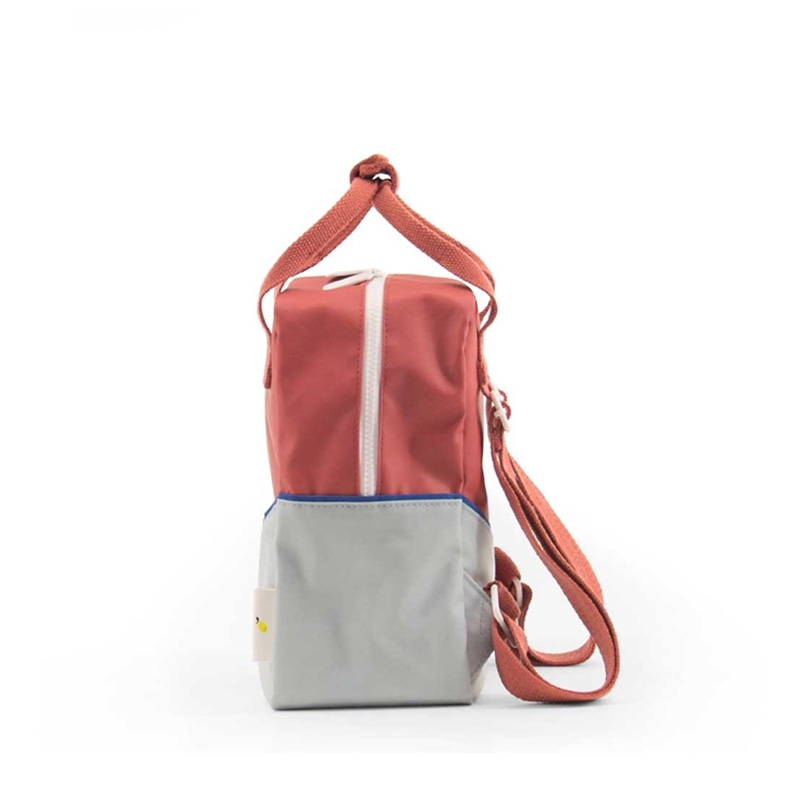 Sticky Lemon Backpack Diagonal Small Faded Red / Powder Blue-181463