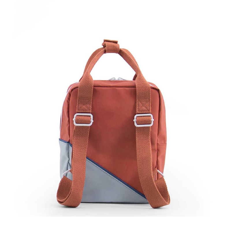 Sticky Lemon Backpack Diagonal Small Faded Red / Powder Blue-181464