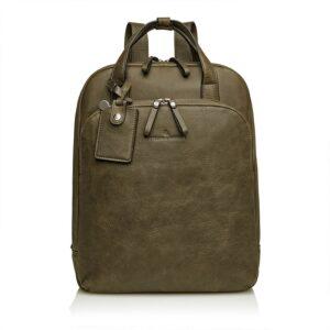 Castelijn & Beerens Carisma Laptop Backpack Green-0