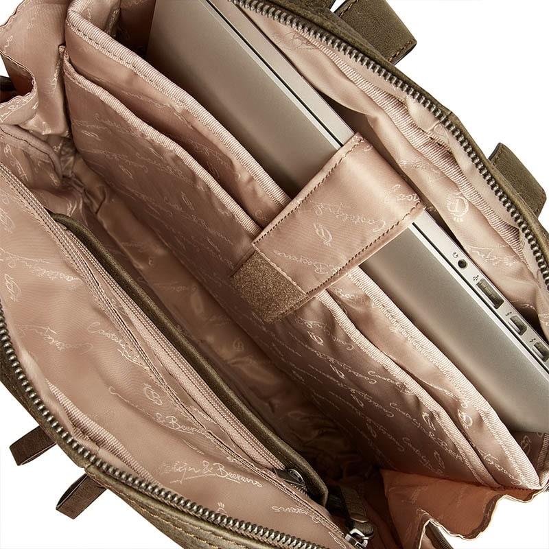 Castelijn & Beerens Carisma Laptop Backpack Green-182051