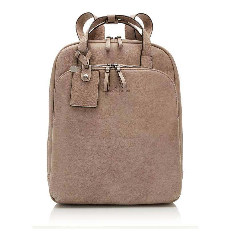 Castelijn & Beerens Carisma Laptop Backpack Grey-0