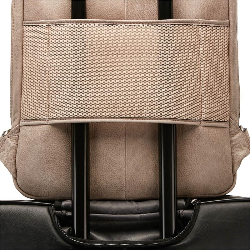 Castelijn & Beerens Carisma Laptop Backpack Grey-182048