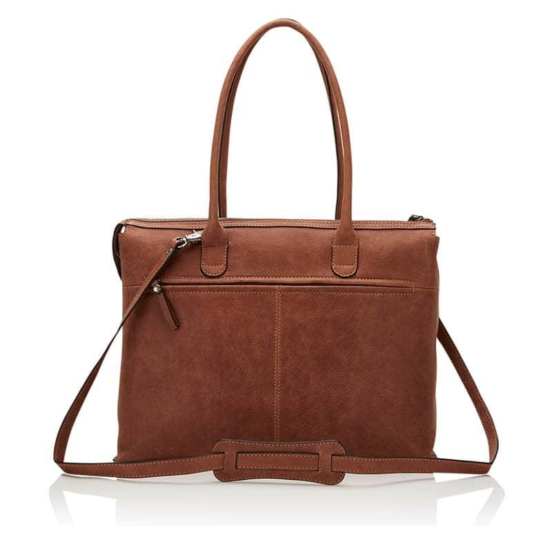Castelijn & Beerens Carisma Laptop/Shoulderbag 15-inch Cognac-182063