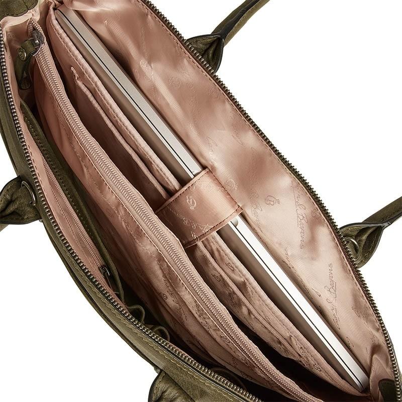 Castelijn & Beerens Carisma Laptop/Shoulderbag 15-inch Green-182070