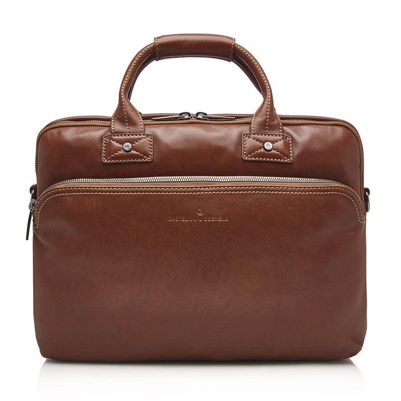 Castelijn & Beerens Firenze Businessbag 15-inch Light Brown-0