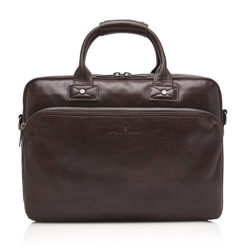 Castelijn & Beerens Firenze Businessbag 15-inch Mocca-0
