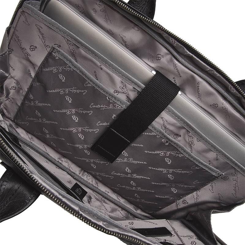 Castelijn & Beerens Firenze Laptopbag 15-inch Black-181982