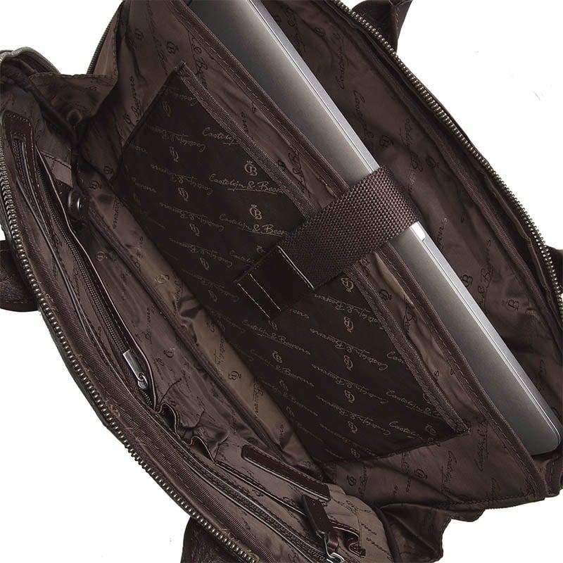 Castelijn & Beerens Firenze Laptopbag 15-inch Mocca-181987