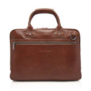 Castelijn & Beerens Firenze Laptopbag 15-inch Light Brown-0