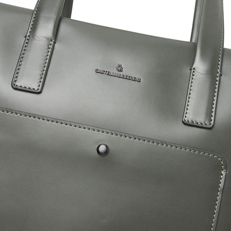 Castelijn & Beerens Noor Laptopbag 15-inch Green-181891