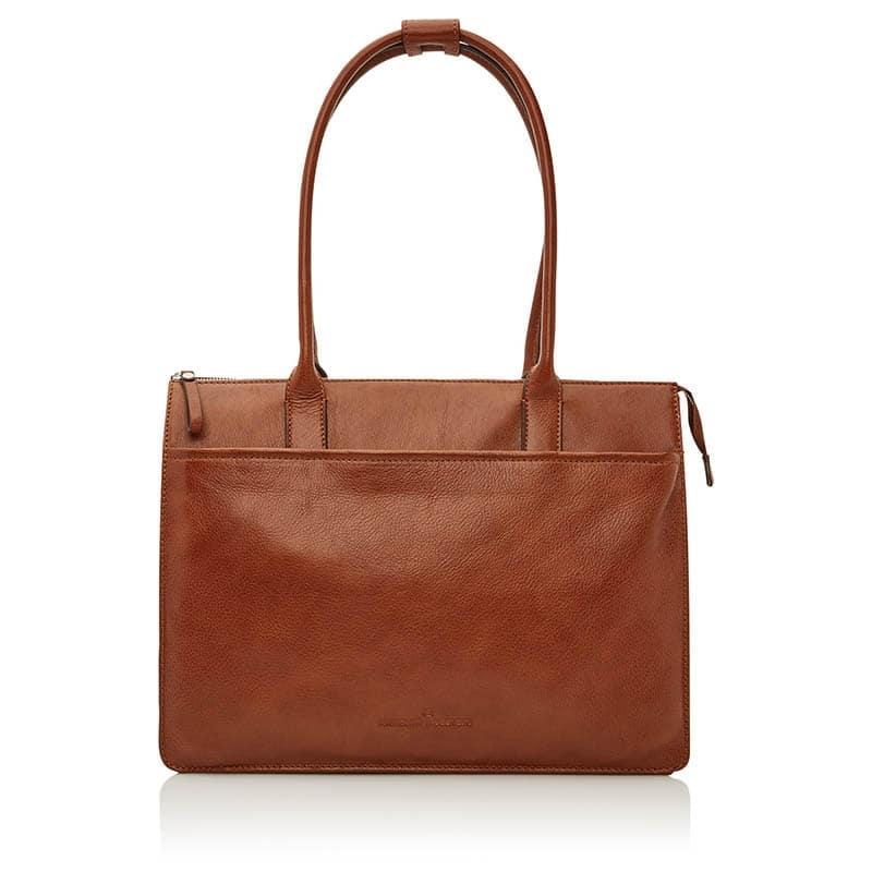 Castelijn & Beerens Nova Businessbag 15-inch Light Brown-0