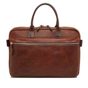 Castelijn & Beerens Renee Rein Laptopbag 15-inch Brown-0