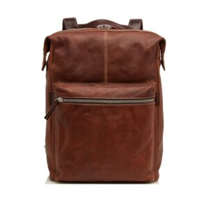 Castelijn & Beerens Rudy Laptop Backpack 15-inch Brown-0