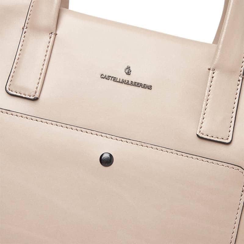 Castelijn & Beerens Sofie Laptopbag 15-inch Beige-181913