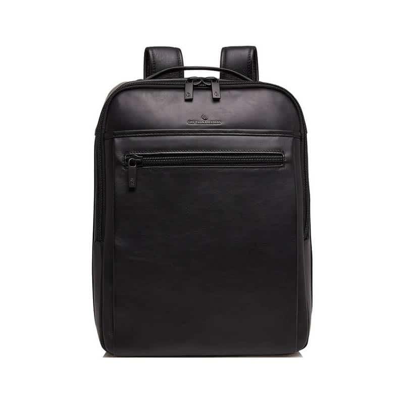 Castelijn & Beerens Victor Laptop Backpack 15-inch Black-0