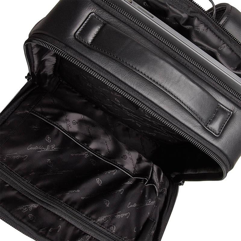 Castelijn & Beerens Victor Laptop Backpack 15-inch Black-181943
