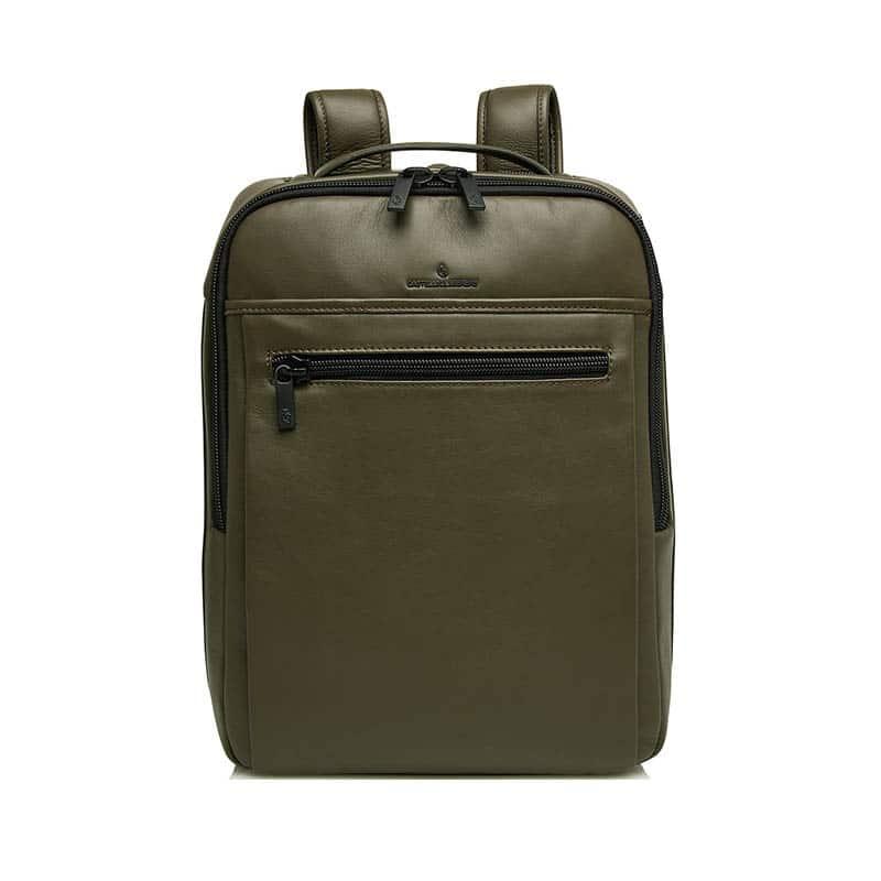 Castelijn & Beerens Victor Laptop Backpack 15-inch Green-0