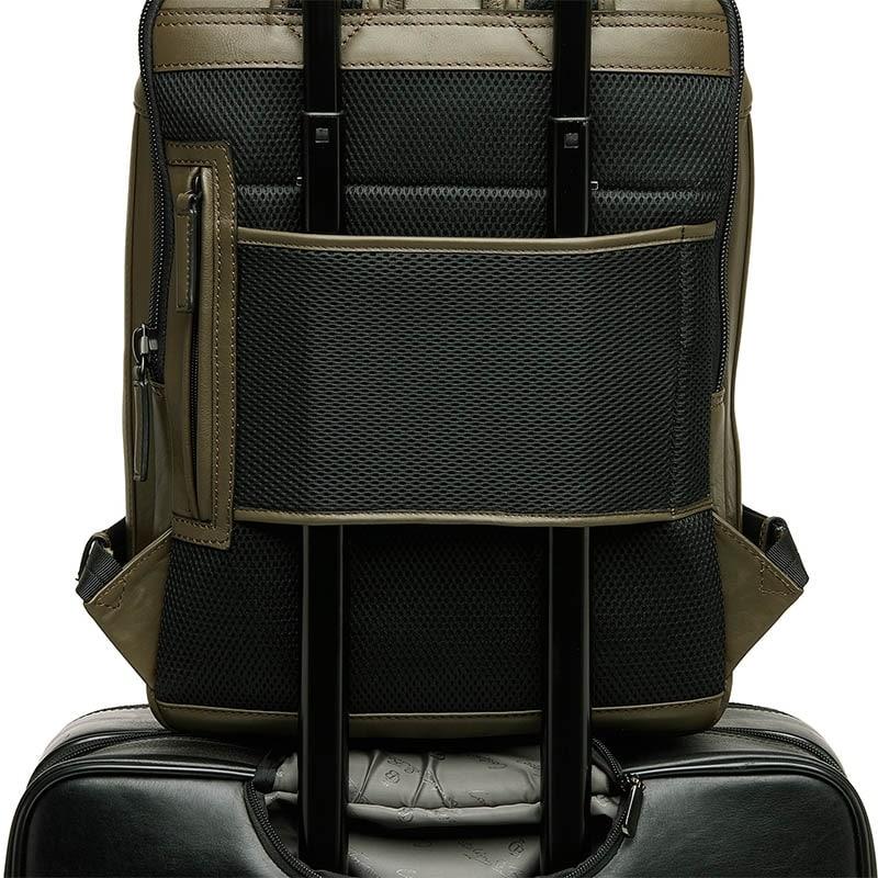 Castelijn & Beerens Victor Laptop Backpack 15-inch Green-181948