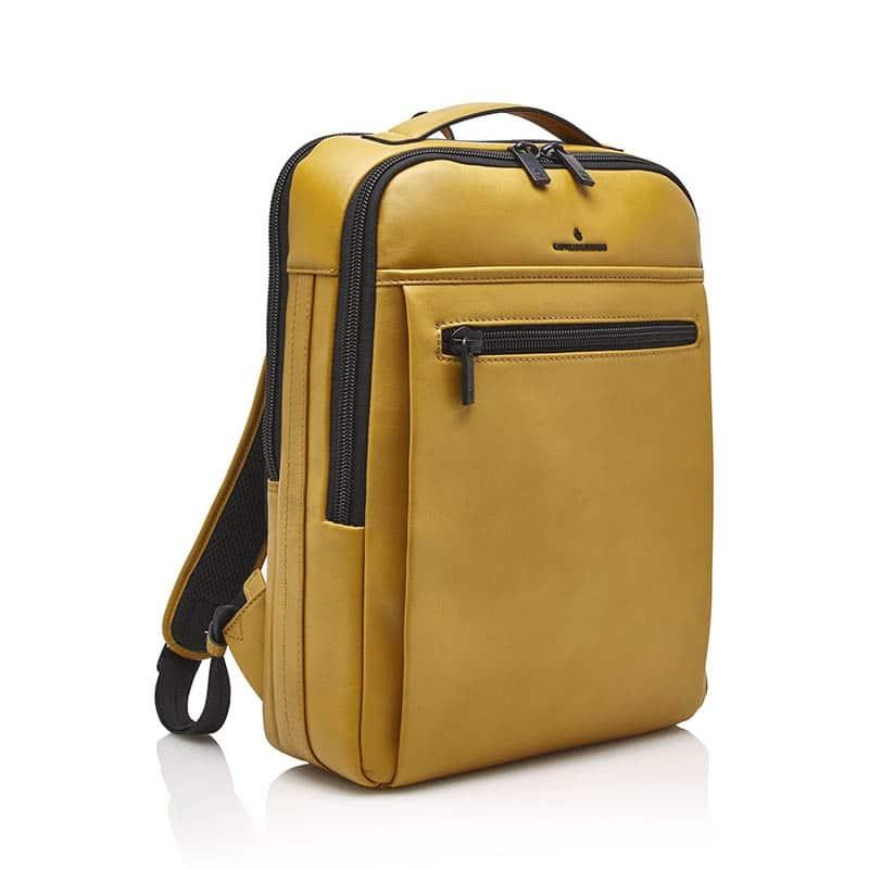 Castelijn & Beerens Victor Laptop Backpack 15-inch Yellow-181950