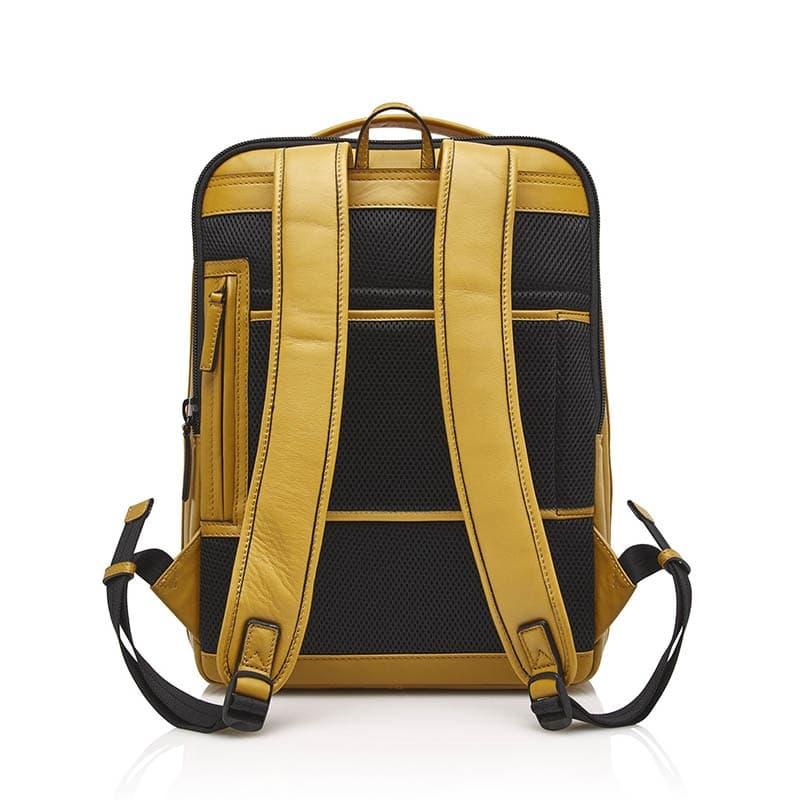 Castelijn & Beerens Victor Laptop Backpack 15-inch Yellow-181951
