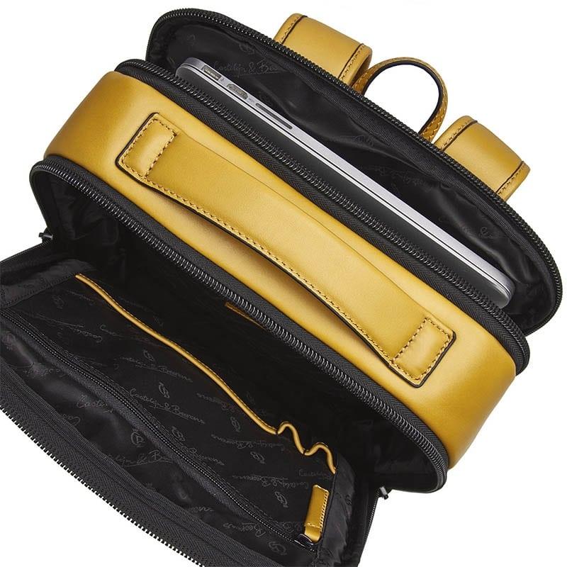 Castelijn & Beerens Victor Laptop Backpack 15-inch Yellow-181952